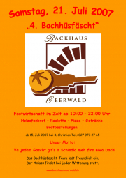 4. Bachhüsfäscht 2 Plakat 07
