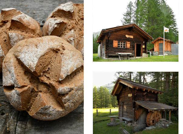 Oberwalder Brot, Bachhüs und Mühle Oberwald