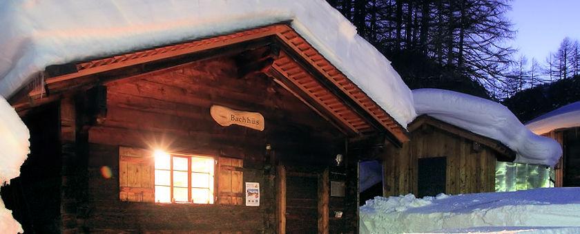 Oberwalder Bachhüs im Winter